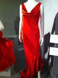 2007 bias red dress