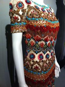 2010 raffia dress