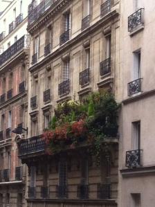 lush balcony