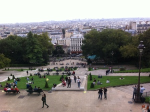 View from Sacre