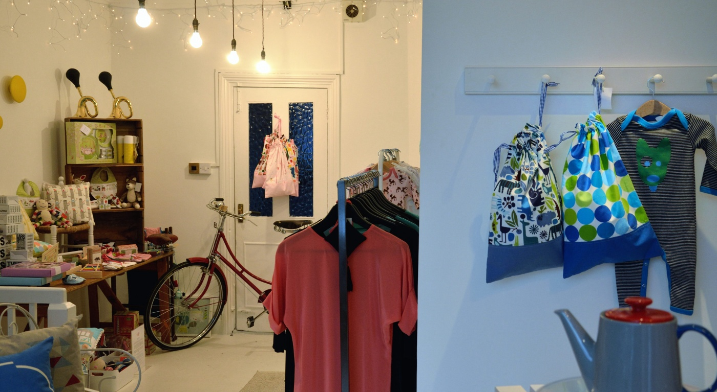 Columbia Road pop up shop