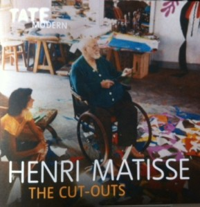 Lydia Delectorskaya and Matisse at Hotel Regina, Nice c.1952  Cover of the Tate Modern exhibition booklet
