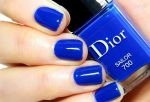 Cobalt blue Dior polish Summer 2014