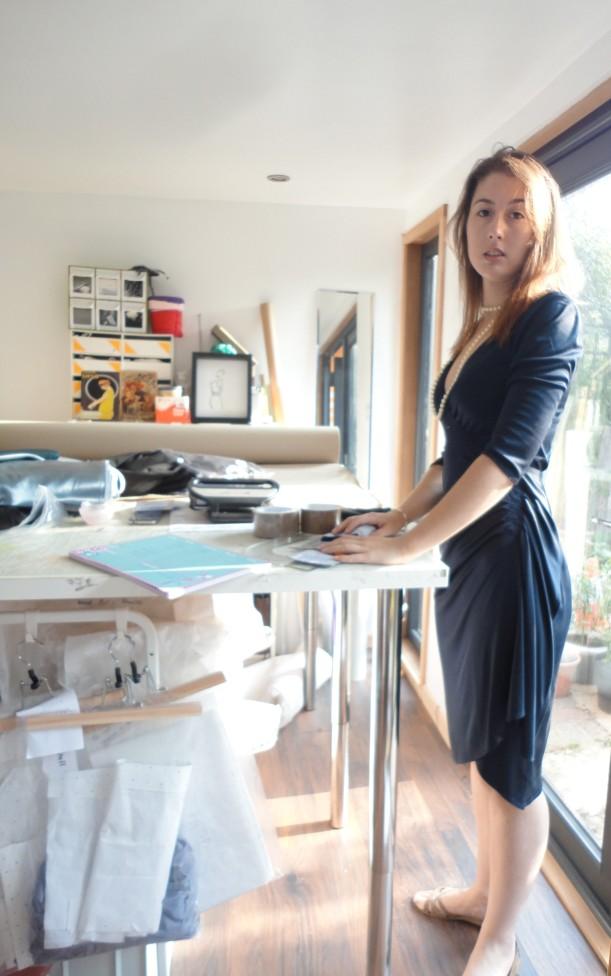 Wrap dress work wear