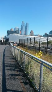Good views on the High Line