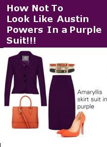 womens, work, suit, accessories, orange, purple
