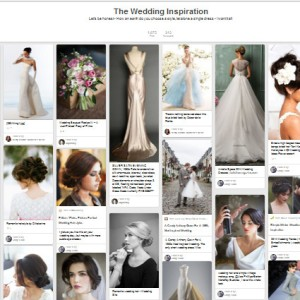 Wedding board, dress, pinterest