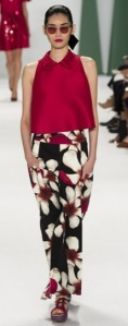 proportion Carolina Herrera S/S 2015